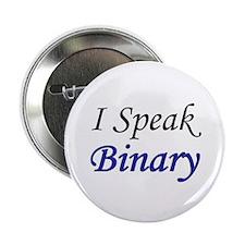 """I Speak Binary"" 2.25"" Button (100 pack)"