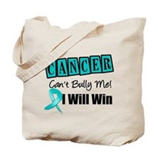 Ovarian Cancer Can't Bully Me Tote Bag