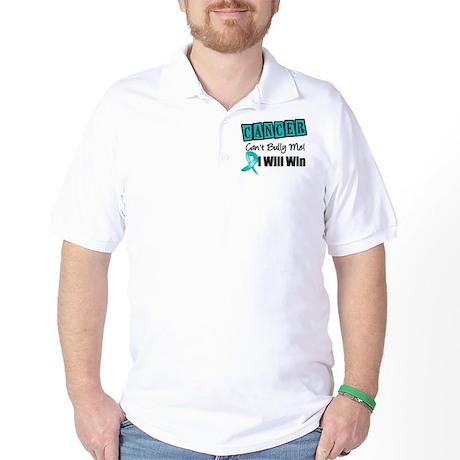Ovarian Cancer Can't Bully Me Golf Shirt