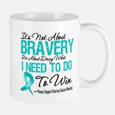 Bravery - Ovarian Cancer Mug