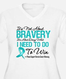 Bravery - Ovarian Cancer T-Shirt
