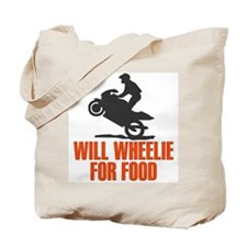 Will Wheelie For Food Tote Bag