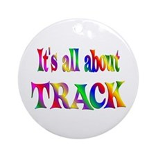 About Track Ornament (Round)