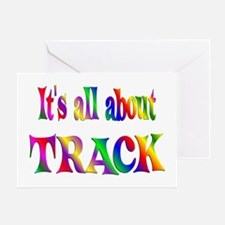About Track Greeting Card