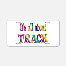 About Track Aluminum License Plate