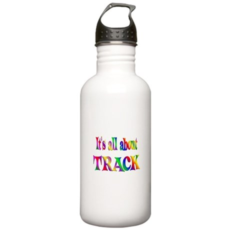 About Track Stainless Water Bottle 1.0L