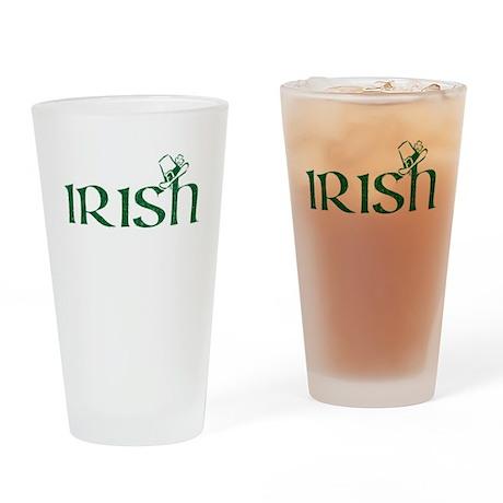 Irish -- Pint Glass