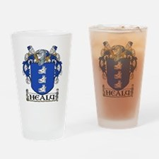 Healy Coat of Arms Pint Glass