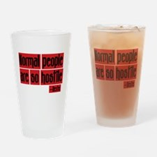 Dexter Quote Normal People Pint Glass