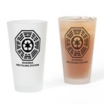 DHARMA Recycling Station Pint Glass