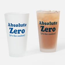 Absolute Zero Pint Glass