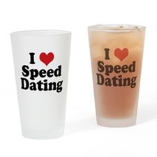 I Love Speed Dating Pint Glass