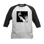 Statue of Liberty /Support Troops Kids Baseball Je