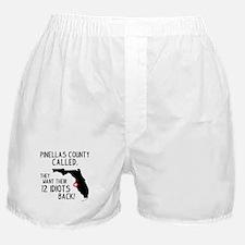 Pinellas County Boxer Shorts