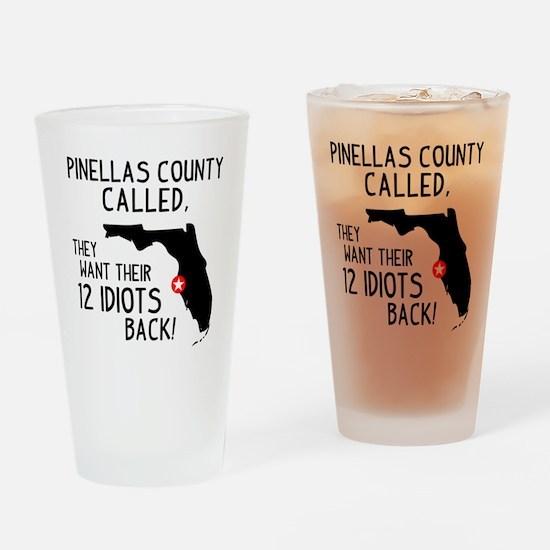 Pinellas County Pint Glass