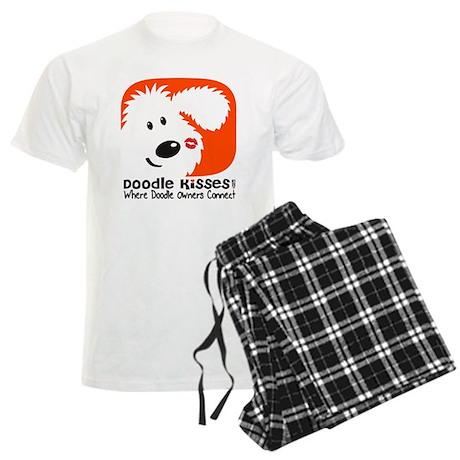 Doodle Kisses Men's Light Pajamas