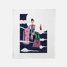Chang 'E Throw Blanket