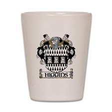 Higgins Coat of Arms Shot Glass