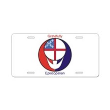 Funny Healing Aluminum License Plate