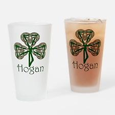 Hogan Shamrock Pint Glass