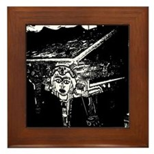 """Voodoo Piano #2"" Framed Tile"