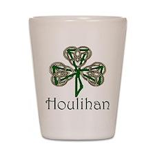 Houlihan Shamrock Shot Glass