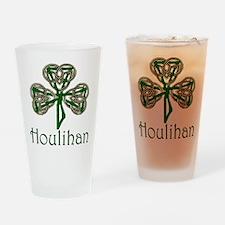 Houlihan Shamrock Pint Glass