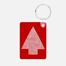 Arrow Tree Red Keychains