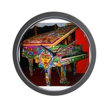 """Voodoo Piano #1"" Wall Clock"