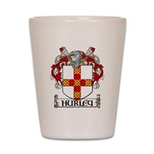 Hurley Coat of Arms Shot Glass