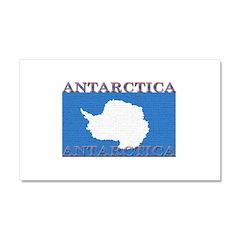 Antarctica Flag Car Magnet 12 x 20