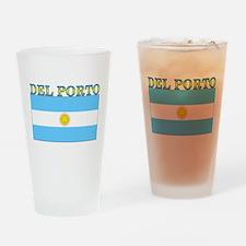 Del Porto Argentina Flag Pint Glass