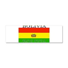 Bolivia Bolivian Flag Car Magnet 10 x 3