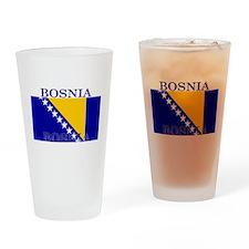 Bosnia Bosnian Herzegovina Fl Pint Glass