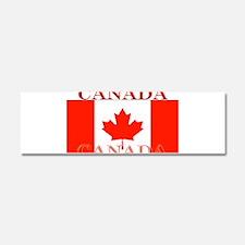 Canada Canadian Flag Car Magnet 10 x 3