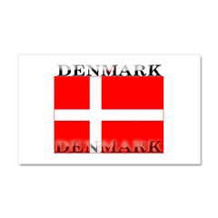 Denmark Danish Flag Car Magnet 12 x 20