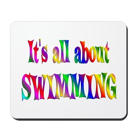 About Swimming Mousepad