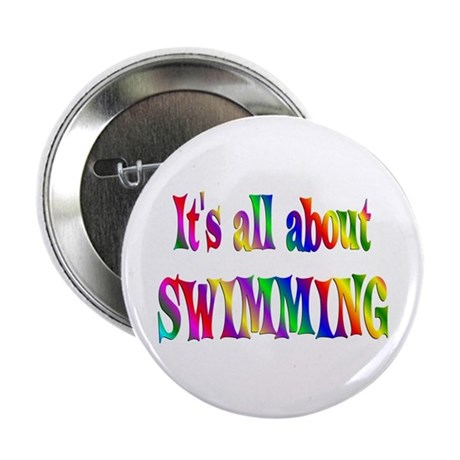 """About Swimming 2.25"""" Button (100 pack)"""