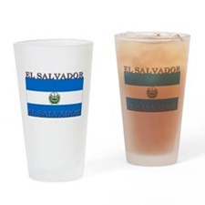El Salvador Pint Glass
