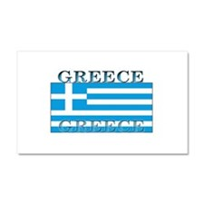 Greece Greek Flag Car Magnet 12 x 20