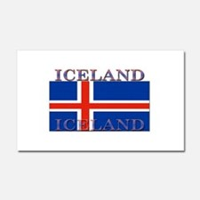 Iceland Car Magnet 12 x 20