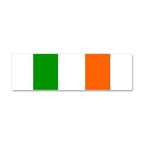 Ireland Irish Blank Flag Car Magnet 10 x 3