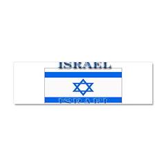Israel Israeli Flag Car Magnet 10 x 3