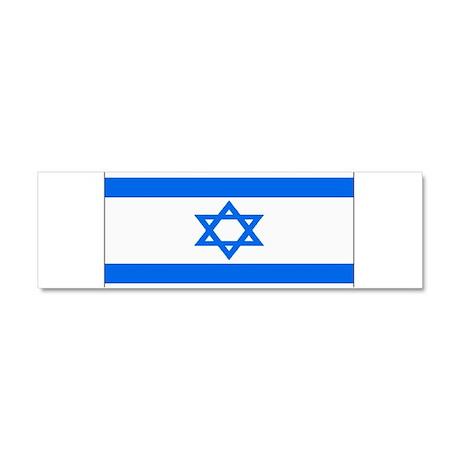 Israel Jewish Flag Car Magnet 10 x 3