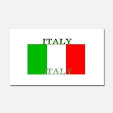 Italy Italian Flag Car Magnet 12 x 20