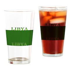 Libya Libyan Flag Pint Glass