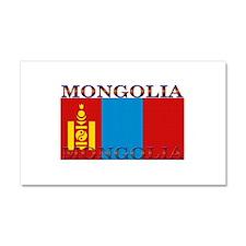 Mongolia Car Magnet 12 x 20