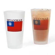 Myanmar Pint Glass