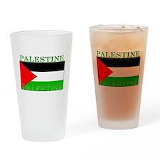Palestine Palestinian Flag Pint Glass