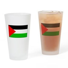 Palestinian Blank Flag Pint Glass